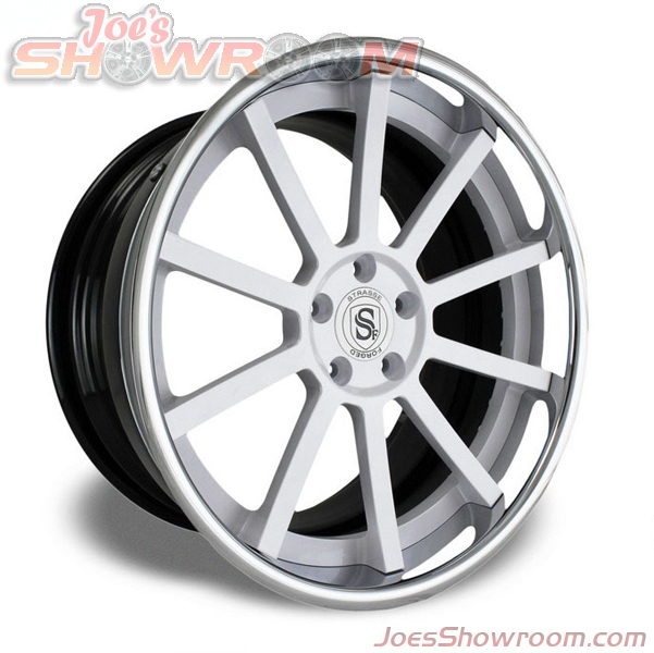 Strasse Forged 3 Piece S10 Deep Concave Chrome